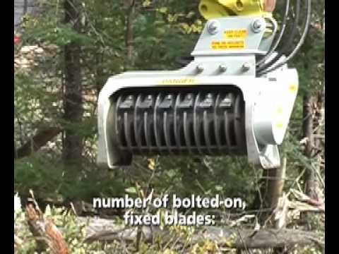 Denis Cimaf Dah 050 125d Excavator Forest Mulchers Youtube