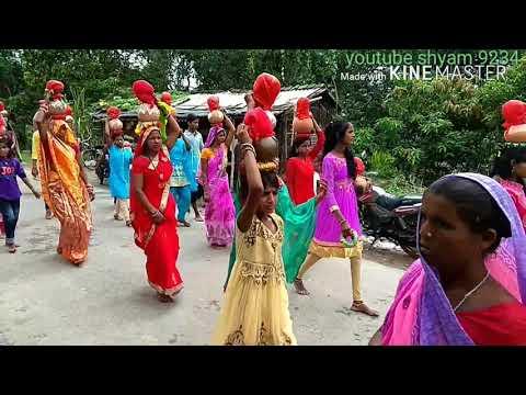 दुर्गा पूजा कलश भटचौरा खजौली मधुबनी बिहार