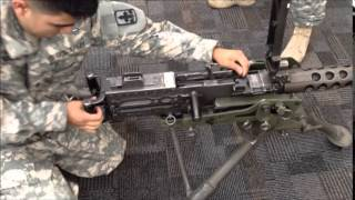 M2 Browning Machine Gun Set Headspace Timing