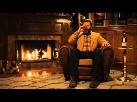 Scotch Whisky Christmas with Nick Offerman - YouTube
