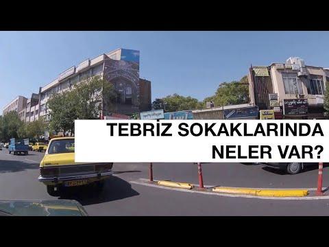 Tebriz İran Sokakları (Tabriz Streets in Iran) Part-1