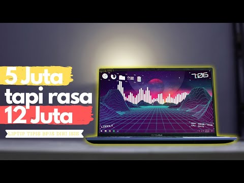 Laptop BPJS Murah | Tipis & Ringan | Full HD | 512GB NVME | Backlit Keyboard | Asus A412UA Review