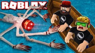 WE'RE TRAPPED ON THE ISLAND FOREVER in ROBLOX SAILING HORROR GAME