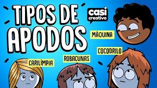 Tipos de Apodos | Casi Creativo