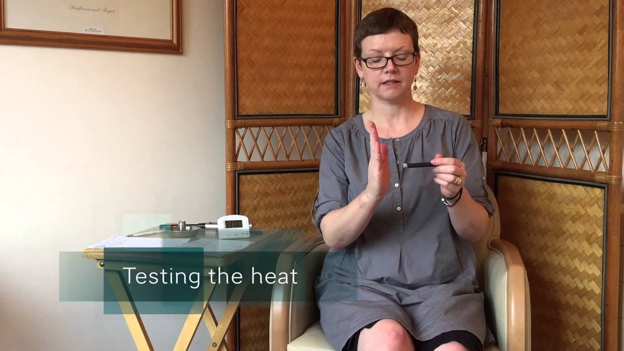 Moxibustion as a tonic for the body