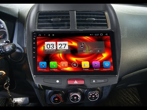 Штатная магнитола Mitsubishi ASX/RVR (2010-2014) Android ZOY-3044