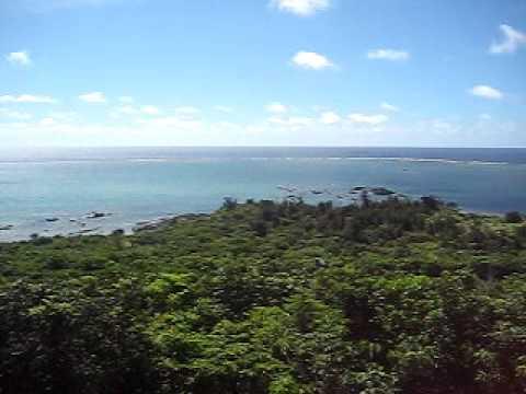 石垣島の景勝地「玉取展望台」