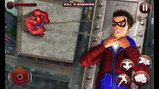 Flying Spider Boy: Superhero Training Academy Game