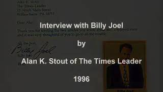 Interview with Billy Joel Alan K  Stout, The Times Leader   1996