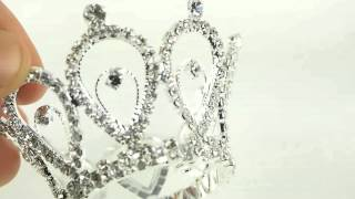 Royal Crown Tiara King Queen Diamond Jewelry Cake Topper Napkin Holder Wedding