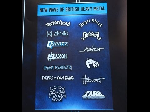 LOCK HORNS| NWOBHM band debate with author Martin Popoff(live stream archive)