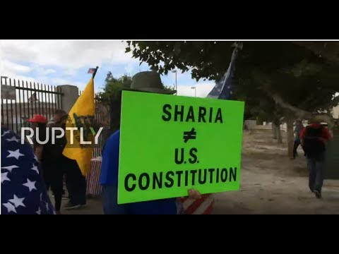LIVE: March against Sharia law takes place in San Bernardino