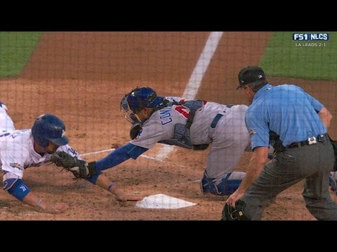 NLCS Gm4: Gonzalez ruled out at home, call stands