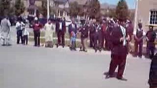 Hazur's Arrival at Baitul Islam Mosque Toronto 2008 3