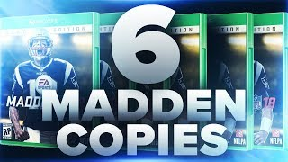 Xbox & PS4 G.O.A.T & Regular Edition Madden 18 Giveaway! 6 Total Copies!