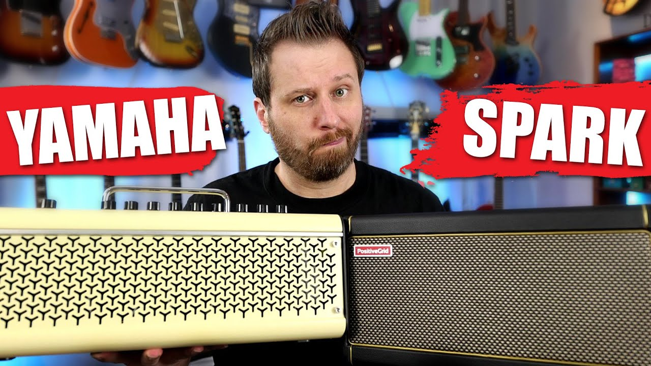 YAMAHA THR30II vs Positive Grid Spark! - Which one is the Best Practice Amp?