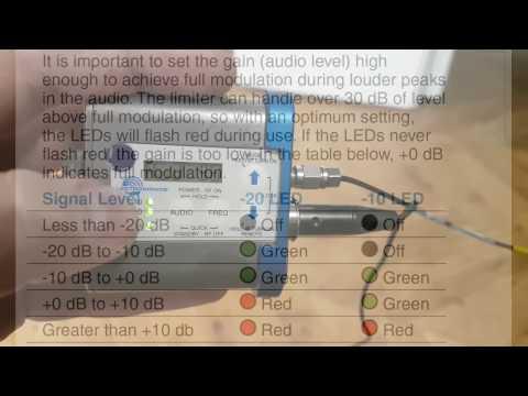 Proper Gain Settings For Lectrosonics SMB/SMDB Wireless Transmitters