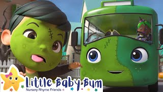 Halloween Wheels on the Bus | NEW Little Baby Bum | Baby Songs and Kids Cartoons | Moonbug Kids TV