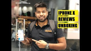 Apple iPhone X (256GB) Unboxing, Reviews, Features, Price in India (HINDI) Giveaway - Biker Aman