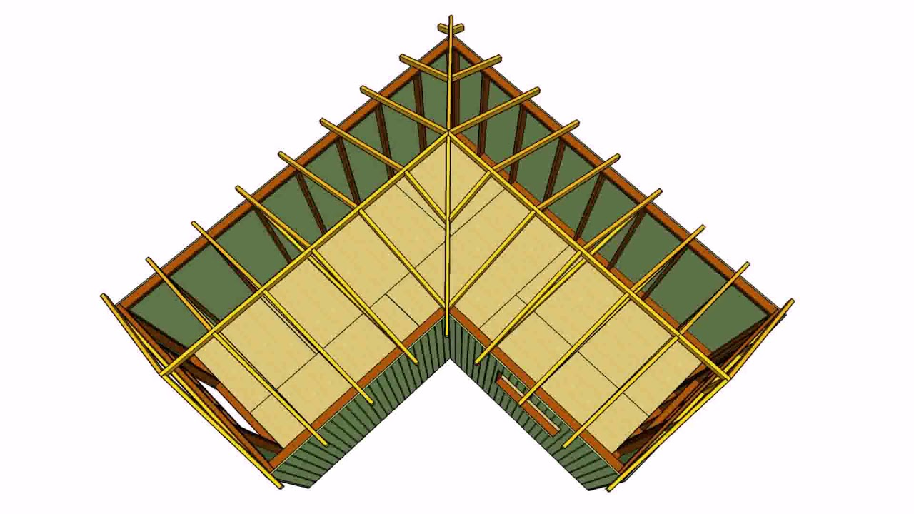 roof design for l shaped house youtube