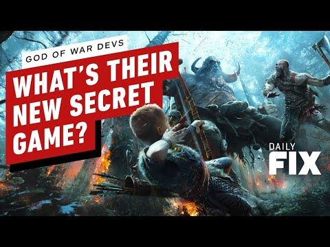 God of War Dev Has a Secret Game in the Works - IGN Daily Fix