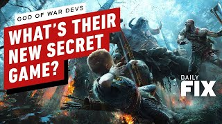 God of War Dev Has a Secret Game in the Works - IGN Daily Fi…