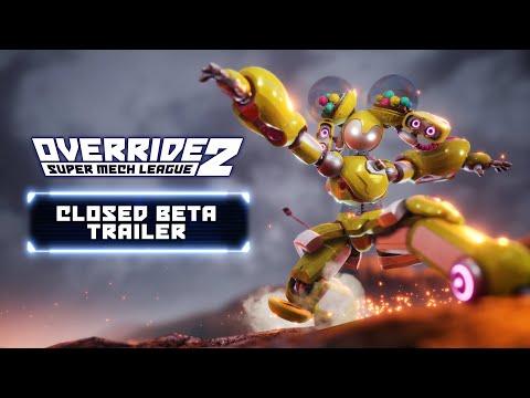 Override 2: Super Mech League – Closed Beta Trailer | PC [GER]