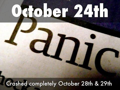 Stock Market To Crash Oct 24th