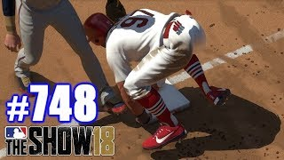 WHERE'S THE HIDDEN BALL TRICK?! | MLB The Show 18 | Road to the Show #748