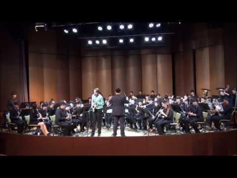 Maarten De Splenter - Concerto Comenia for Alto Saxophone and Symphonic Windband