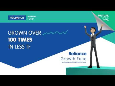 Reliance Growth Fund grown over 100 times in less than 22 years!