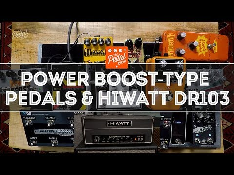 Colorsound Power Boost-Style Pedals & A 1972 Hiwatt Custom 1