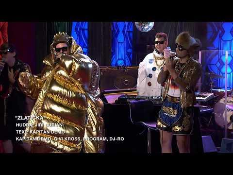Píseň Zlatíčka - zpěv Kapitán Demo - Show Jana Krause 26. 2. 2020