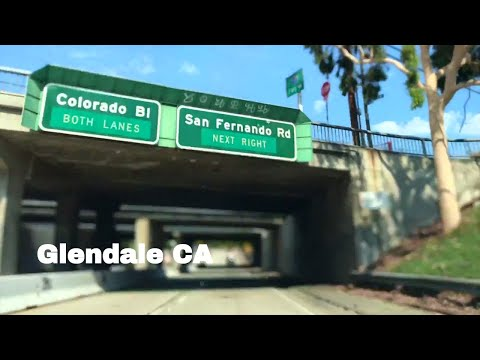 🔴  Glendale CA Driving Tour 1080P