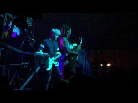 Baby, I'm a queen - Sofi Tukker opening for M83 at the Fillmore Charlotte Tue 6/14/16.