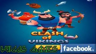 Clash of Vikings Juego Gratis identico a clash Royale para PC en Navegador Web y Facebook
