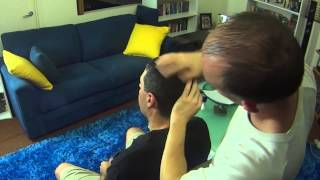 Head Massage to Relieve Tension & to Help Reduce Headache How To Guide - ASMR