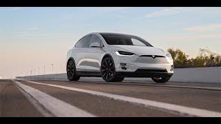 Разгон Tesla model X P100D Dual Motor от 0-100 в разных режимах