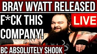 🔴LIVE: WWE RELEASES Bray Wyatt In A Move That Shows This Company's ARROGANCE, IGNORANCE & NEGLIGENCE