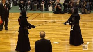 15th All Japan 8-dan Kendo Championships — SF1