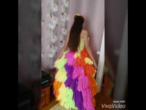 0 - Сукня з серветок своїми руками