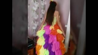 как сделать платье на осенний бал своими руками