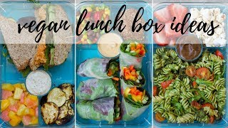 3 HEALTHY LUNCHBOX IDEAS FEAT. YUMBOX LUNCHBOX [VEGAN + GF] | PLANTIFULLY BASED