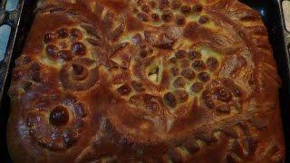 Вкусно необыкновенно! Пирог творожный с яблоками