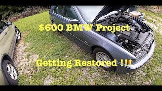 MAKING BIG MOVES On The $600 BMW E39 !!! Everything That It Needs Is Ordered  !!!