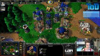 Warcraft III #425 - Evil.Overlord Human vs Undead (Turtle Rock)