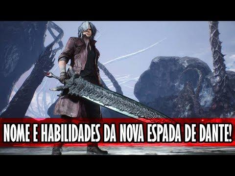 (SPOILER) Nome da nova espada revelado! | Devil May Cry 5 thumbnail