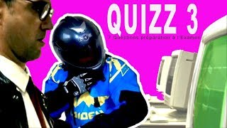 Quizz 3 # Préparation Examen Théorique SAAQ