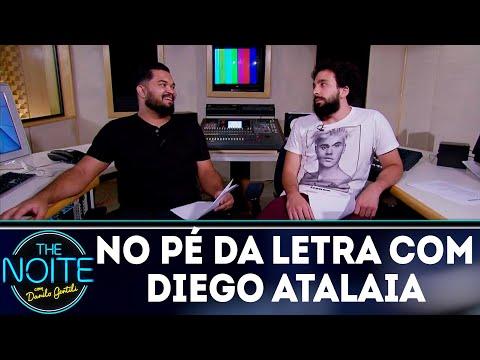 No Pé da Letra: MC Gospel Diego Atalaia - Ep.5 | The Noite (30/07/18)