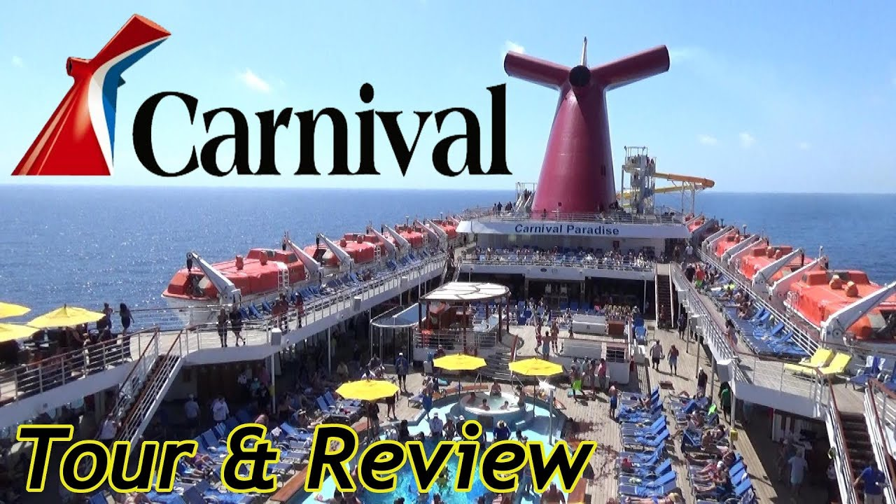 Carnival Paradise 2019 Tour & Review with The Legend